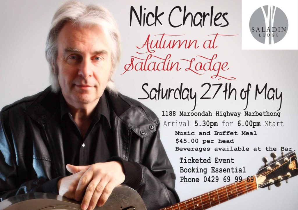 "Nick Charles ""Autumn in Saladin Lodge"""